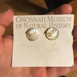 Unique seahorse earrings